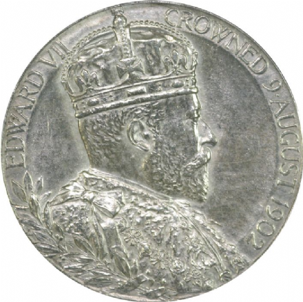 Edward VII Coronation Medallion 1902